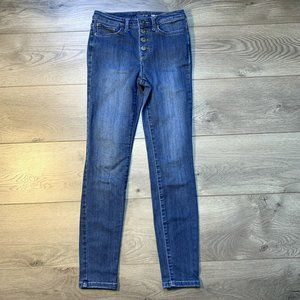 MAISON JULES Skinny Ankle Jeans 2/26